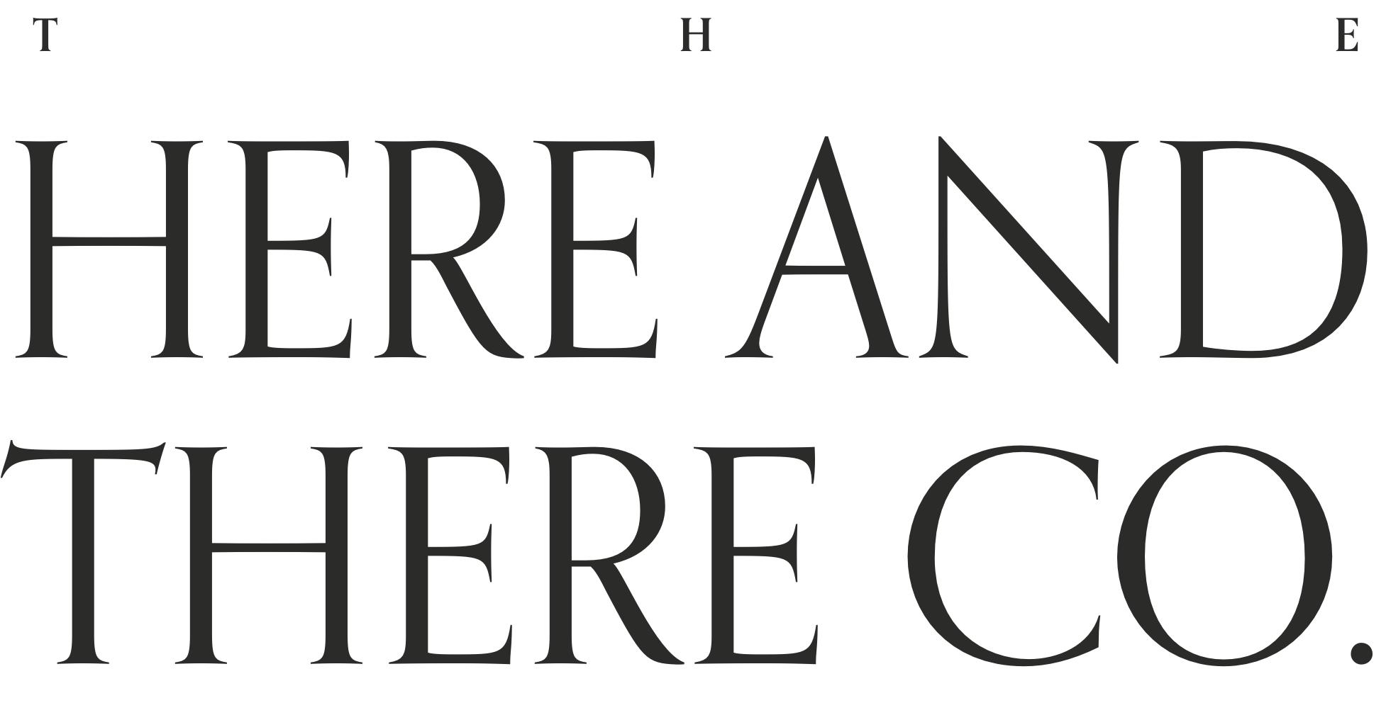 The Here and There Collective Logo